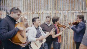 Kabir Sehgal, Humberto Manuel Flores Gutierrez, Arturo O'Farrill, Luis Villalobos, Alberto Villalobos during the Fandango Fronterizo